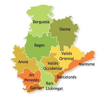 Comarcas-de-la-provincia-de-Barcelona