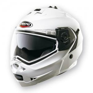 Casco para moto modular CABERG DUKE para motorista color negro mate talla XL